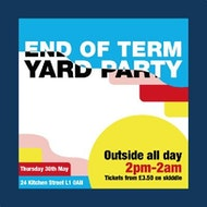 End of Term Yard Party