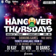 Hangover Thursdays