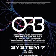 THE ORB: 30TH ANNIVERSARY TOUR