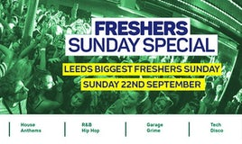 FNE Freshers Sunday Special : Space : Welcome To Leeds