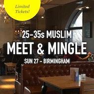 Muslim Meet and Mingle, London - 25-35s