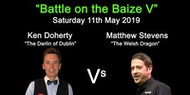 SNOOKER CHAMPIONS 'Battle on the Baize V'