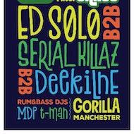 Rum&Bass x Jungle Cakes - Ed Solo b2b Serial Killaz b2b Deekline