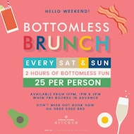 Bank Holiday Bottomless Brunch