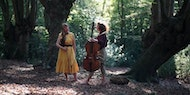 Fran and Flora - Eastern European folk music inspired violin and cello