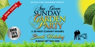 AGS Garden Party - Bank Holiday Sunday 26th May 2019