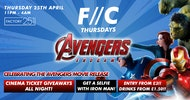 F//C Thursdays at Factory | Avengers Endgame tickets giveaway