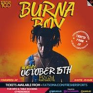 BURNA BOY LIVE!!!