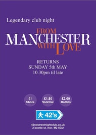 From Manchester with Love Bank Hol Special!