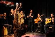 Flamenco show at Casa Patas in Madrid
