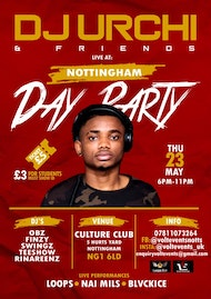Nottingham Day Party Featuring DJ Urchi & Friends