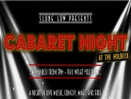 Cabaret Night at The Holbeck