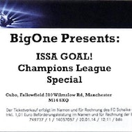 BigOne presents: ISSA GOAL! Champions League Final Special