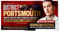 DISTRICT Portsmouth // Download Festival Ticket Giveaway // Alt & Indie Club Night // 23rd February at The Wedgewood Rooms