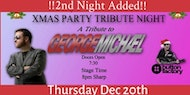 Amazing George Michael Tribute Christmas Party Night (Thursday 20th December 2018)
