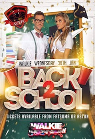 Aston Rugby Club presents 'BACK 2 SCHOOL PARTY'