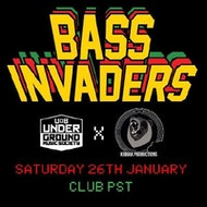 Underground X Kodiak Present Bass Invaders