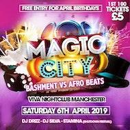 MAGIC CITY Bashment Vs Afro Beats