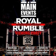 Main Events : Royal Rumble 2019 Party