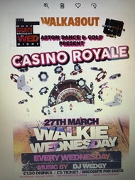 Aston Golf and Dance present 'Casino Royal' for Wednesday Walkabout event!