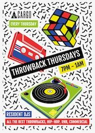 Cargo presents: Throwback Thursdays !