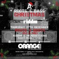 'A Roots & Bass Christmas' - w/ Route2Roots (DJ & MC), Riddm & Headsessions