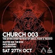 CHURCH X BELFAST 003 // The Divine Intervention