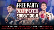 FREE PARTY - Coyote - STUDENT SOCIAL