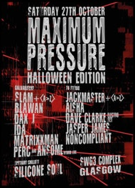Maximum Pressure Halloween 2018