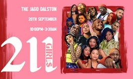 211 GIRLS x The JAGO Dalston End of Summer Party