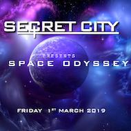 SECRET CITY - A Space Odyssey (Birmingham)