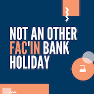 NOT ANOTHER FAC'IN BANK HOLIDAY SATURDAY