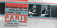 Peyman Salimi ft. Ardalan Payvar live @ Péniche Anako - Paris