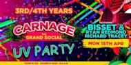3rd & 4th year UV party - Bissett & Ryan Redmond - Grand Social