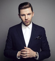 Professor Green in conversation with Eoghan McDermot