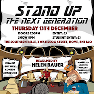 Stand-Up: The Next Generation - Helen Bauer