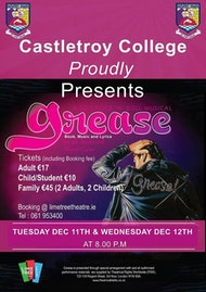 Grease | Castletroy College