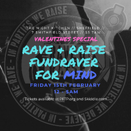 TNK x Rave & Raise: Mind Fundraver w/ Klinical, Displace & more!