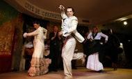 Espectáculo de flamenco en el Café de Chinitas en Madrid