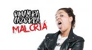 "Omayra Cazorla presenta ""Malcriá"" en Madrid"