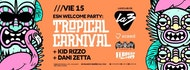 Esn Party - Tropical Carnival. Kid Rizzo + Dani Zetta