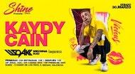 Kaidy Cain (Showcase) + DJSOAK 30 Marzo Valencia