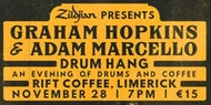 Graham Hopkins & Adam Marcello Drum Hang - Limerick