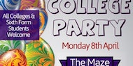 College Party Nottingham (Mon-8th-April) Early Birds