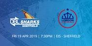 DBL Sheffield Sharks v London City Royals