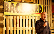 Saturday Night at the Backyard Comedy Club