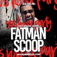 Motion's 90s House Party with Fatman Scoop!