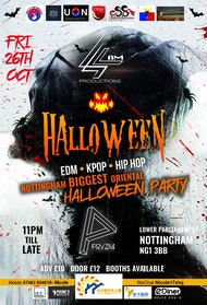 4AM x PRYZM Presents: OFFICIALLY NOTTINGHAM BIGGEST ORIENTAL HALLOWEEN PARTY