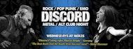 Discord - Rock, Pop Punk, Emo & Metal Anthems!