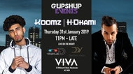 ★ GupShup Events Present H DHAMI X KOOMZ - BHANGRA X RnB X BOLLYWOOD SESSION ★